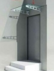 Wsporniki do mocowania daszków szklanych GRYC